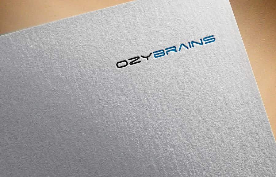 Contest Entry #                                        2                                      for                                         Logo creation of OzyBrains.com