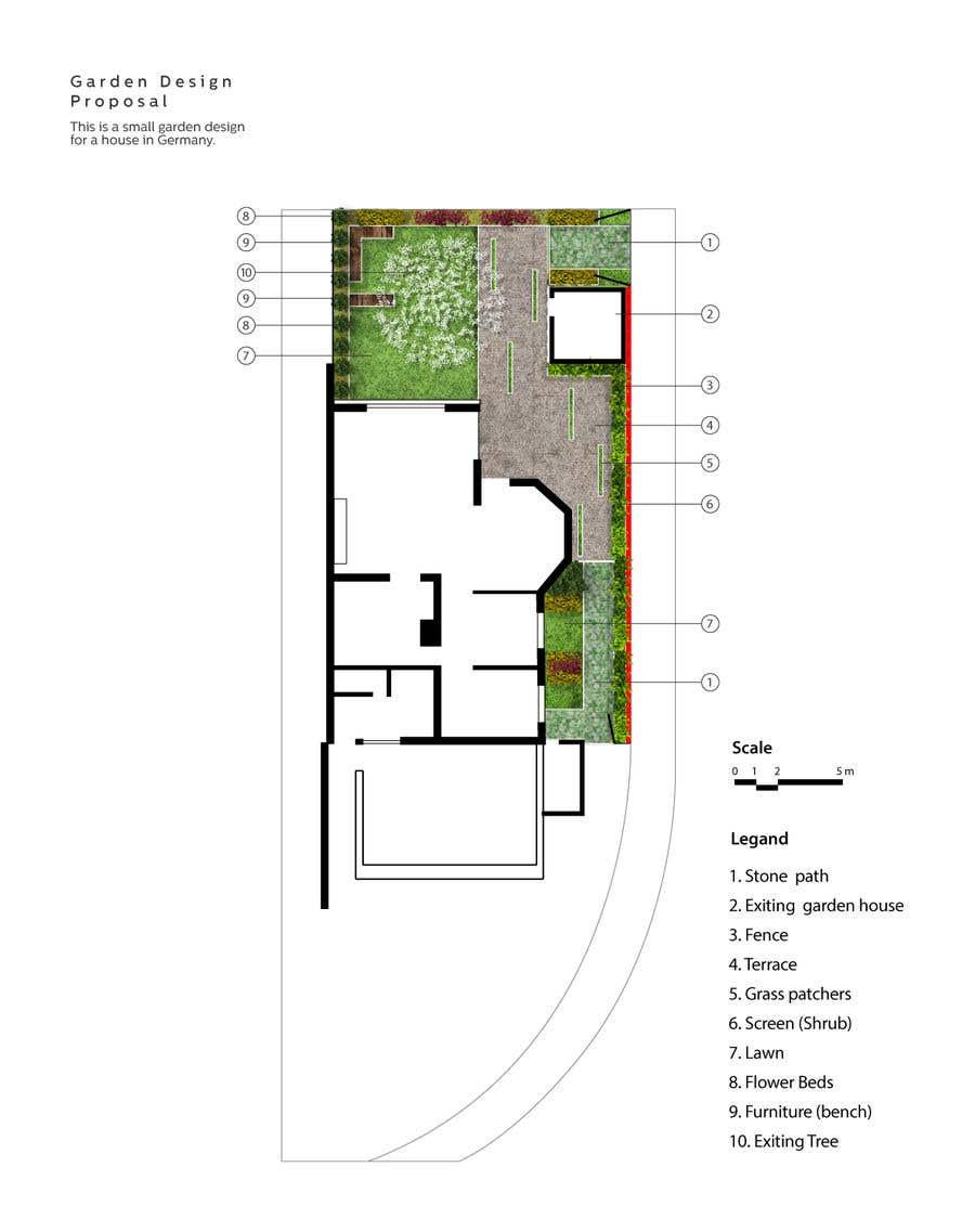 Konkurrenceindlæg #                                        19                                      for                                         Design of a small garden.