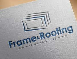 #34 for Design a Logo for Frame&Roofing af tolomeiucarles