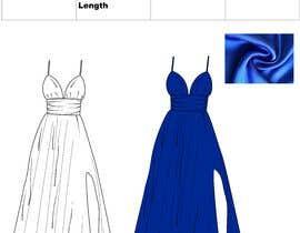 #15 untuk I want a tech pack design of a dress. oleh sonalkaramchand7