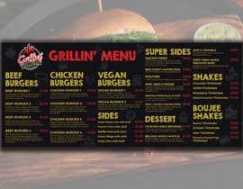 #36 for Design Me A Menu For My Burger Store af mijan783661