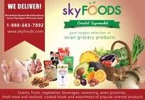 Design a Flyer for asian online supermarket için Graphic Design23 No.lu Yarışma Girdisi