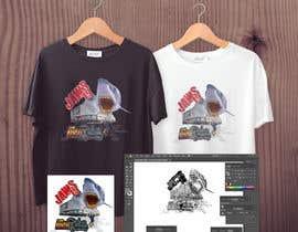 #37 untuk BAck to the future 2 JAws 19 Holographic Shark Tee Shirt Design oleh sakirhasan86