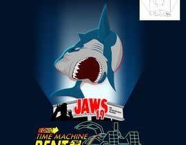 #50 untuk BAck to the future 2 JAws 19 Holographic Shark Tee Shirt Design oleh Adriangtx