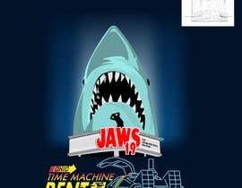 #52 untuk BAck to the future 2 JAws 19 Holographic Shark Tee Shirt Design oleh Adriangtx