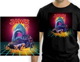 #43 untuk BAck to the future 2 JAws 19 Holographic Shark Tee Shirt Design oleh antoniustoni