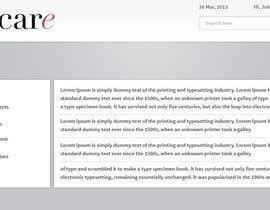Nro 6 kilpailuun application website design käyttäjältä tania06