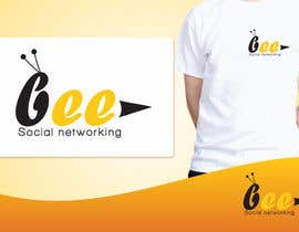 #155 per Logo Design for Logo design social networking. Bee.Textual.Illustrative.Iconic da ulogo