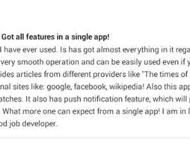 #8 para Top quality Android App Review por rshalder90