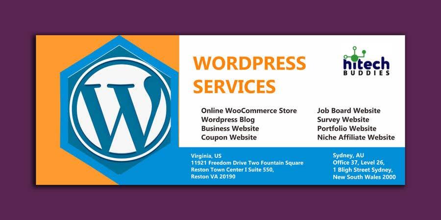 Kilpailutyö #                                        30                                      kilpailussa                                         Design a Facebook stunning post for wordpress services