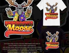 #43 dla Undercover Moose Sticker przez rockztah89