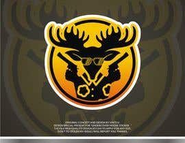 #22 dla Undercover Moose Sticker przez SAKTI2