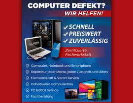 #155 untuk Design poster A1 for a computer company oleh FarooqGraphics