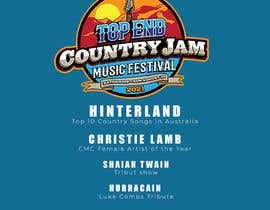 #63 for Create Posters for a Country Jam by VAGALUMEdcv