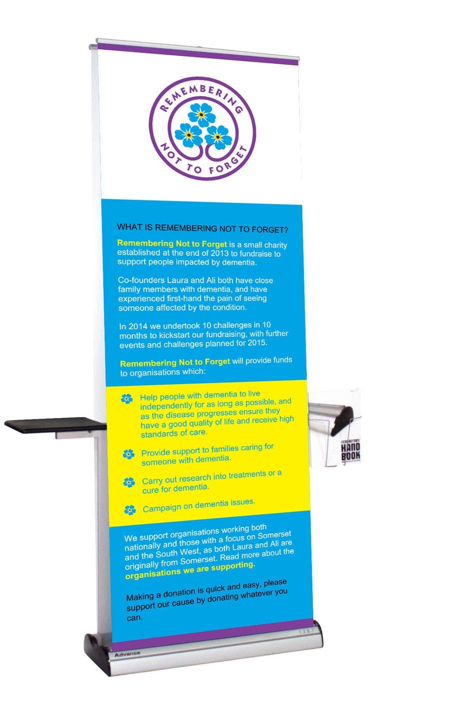 Bài tham dự cuộc thi #13 cho Design a standing banner for a small charity