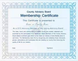#18 for Design a membership certificate by tanzeelhussain