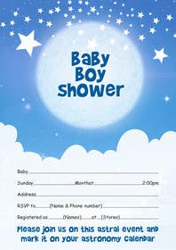 #34 cho Baby Shower Invite bởi itvisionservices