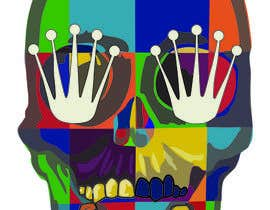 nº 1 pour Illustrate Skull POP ART design par sandyhill