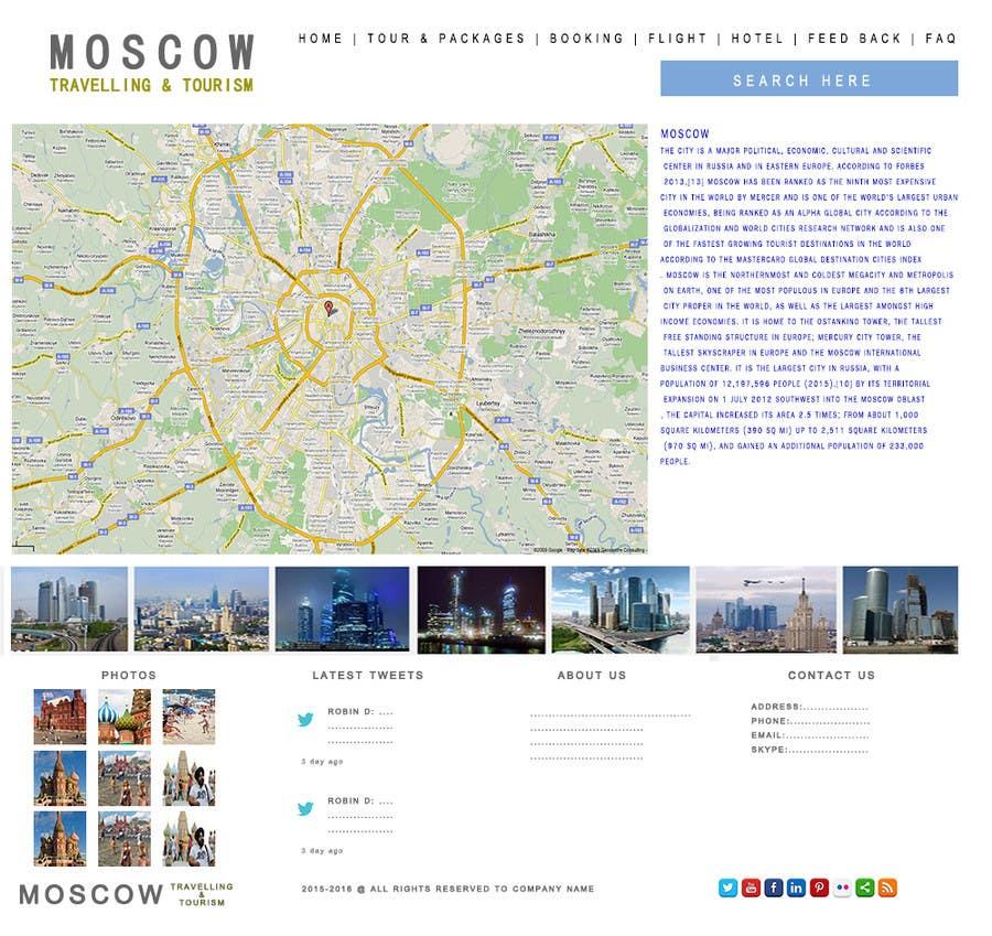 Konkurrenceindlæg #                                        5                                      for                                         Design a Website Mockup for City Travelling Guide