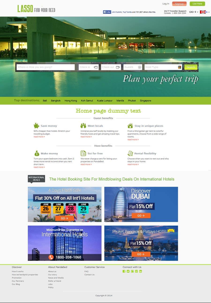 Konkurrenceindlæg #                                        11                                      for                                         Design a Website Mockup for City Travelling Guide