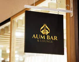 Nro 181 kilpailuun Logo Design for Aum Bar & Lounge käyttäjältä beautyakter0163