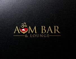 Nro 123 kilpailuun Logo Design for Aum Bar & Lounge käyttäjältä mamunhossain6659