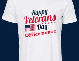 #477 for Military Veteran T-Shirt Design af anishkrishna001