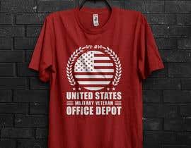 #454 for Military Veteran T-Shirt Design af Hridhya23