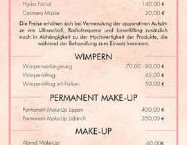 Nro 2 kilpailuun Flyer for cosmetic studio needed käyttäjältä GenesisA