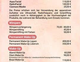 Nro 43 kilpailuun Flyer for cosmetic studio needed käyttäjältä jubayergd60