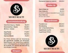 Nro 45 kilpailuun Flyer for cosmetic studio needed käyttäjältä jubayergd60
