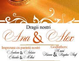 Nro 11 kilpailuun Wedding invitation template käyttäjältä grintgaby1
