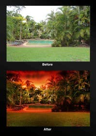 #36 untuk Turn 2 daytime real estate photos into beautiful twilights oleh uheybaby