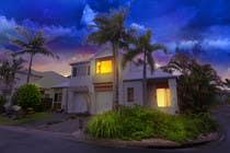 Turn 2 daytime real estate photos into beautiful twilights için Photoshop22 No.lu Yarışma Girdisi