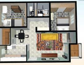 #27 untuk 2 bedroom apartment interior design oleh Ruphasree