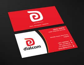#136 for Design some Business Cards for Dialcom Inc. by flechero