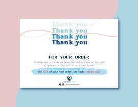 #218 for Design me a Thank you card by kimphung191196