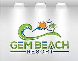 Nro 210 kilpailuun Gem Beach Resort logo käyttäjältä ra3311288