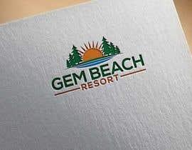 Nro 201 kilpailuun Gem Beach Resort logo käyttäjältä rashidooo