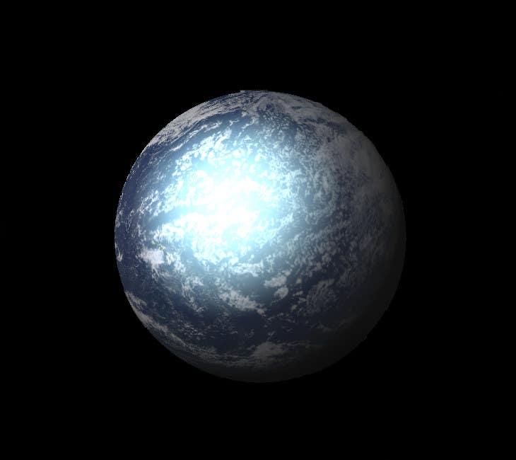 Konkurrenceindlæg #1 for Design an Exoplanet Texture in 4K