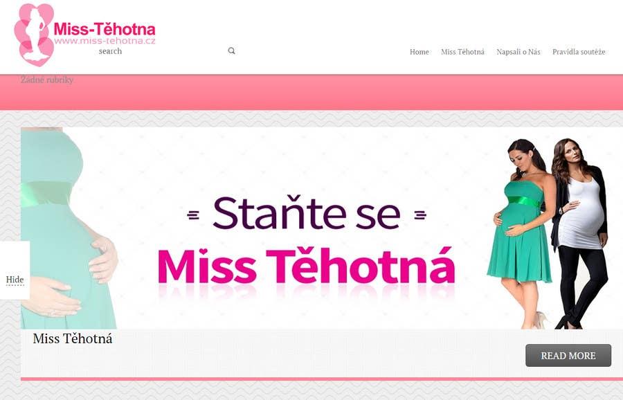 Konkurrenceindlæg #                                        1                                      for                                         Navrhnout logo for Miss Těhotná CZ www.miss-tehotna.cz