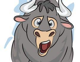 #105 for Cartoon Caricature of a Bull af SherryD45