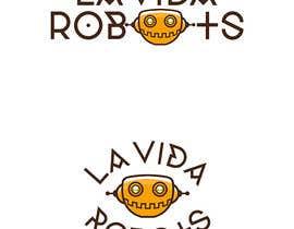 nitabe tarafından Logo Design for La Vida Robots (www.lavidarobots.org) için no 120