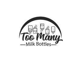 Nro 37 kilpailuun Custom Typography Graphic Design - 54321 Too Many (milk bottles) käyttäjältä Mostaq418