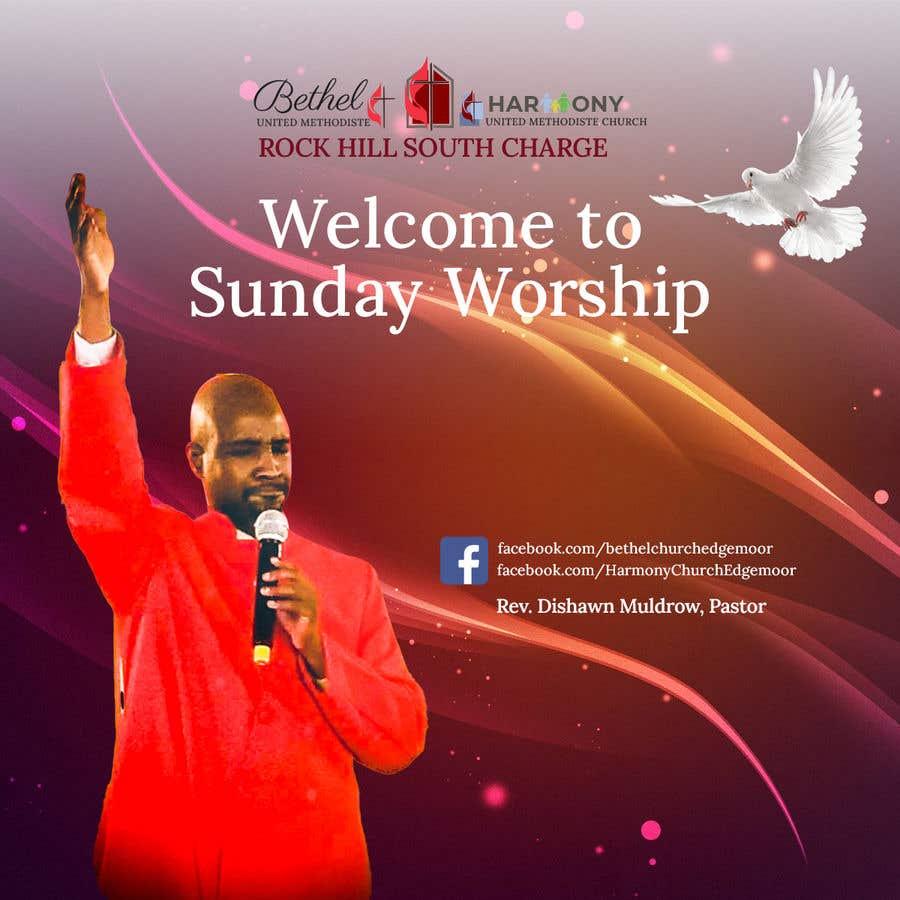 Kilpailutyö #                                        165                                      kilpailussa                                         Church Logo/Poster Revamp - 14/06/2021 01:57 EDT