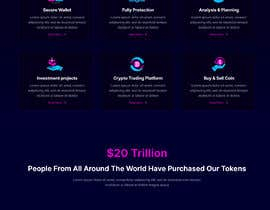 #25 for Pre-sell Crypto Token Design  website (self drop) solutions contest by smunonymous