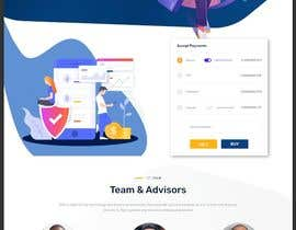 #27 for Pre-sell Crypto Token Design  website (self drop) solutions contest by smunonymous