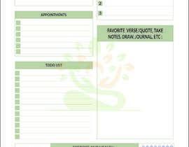 #35 for PDF Templates for Journaling (Printed or digital) af arifraihan757
