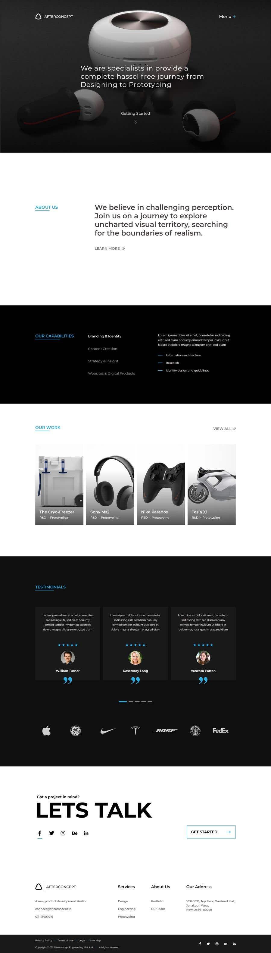 Konkurrenceindlæg #                                        25                                      for                                         Improve UI/UX design for the website