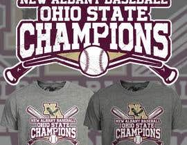 #161 untuk New Albany Ohio Baseball State Champs Tee Shirt Design oleh Maxbah